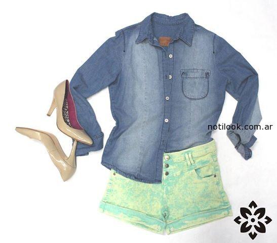 camisas jeans verano 2015 nahana