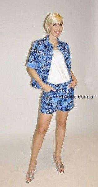 conjunto short y saco verano 2015 Adriana Costantini