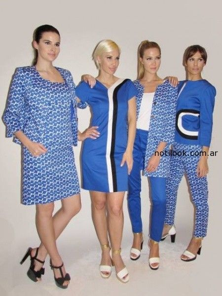 look formal verano 2015 Adriana Costantini