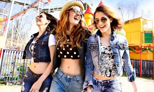 look total denim juvenil verano 2015 Kanikama