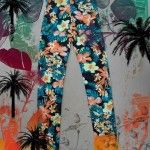 pantalon estampa flores verano 2015 afixis