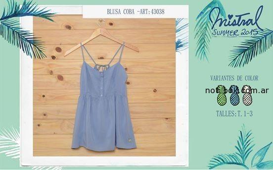 remera con botones mistral mujer verano 2015