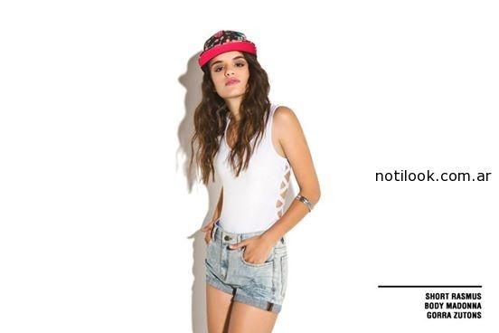 short de jeans Inversa net.