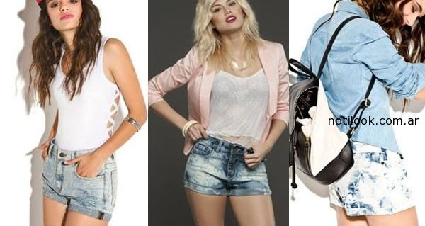 short de jeans verano 2015 - marcas argentinas