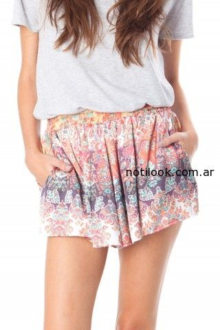 short estampado verano 2015 the coco room
