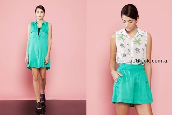 vestido con botones verano 2015 vestite y andate