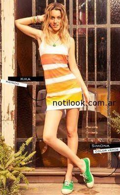 vestido corto de dia verano 2015 solido inc.