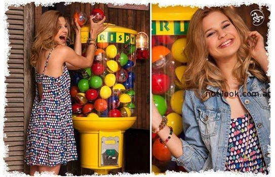 vestidos cortos de dia primavera verano 2015 Doll Fins