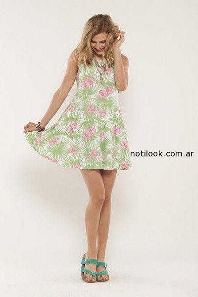 7603460ce8 vestidos cortos informales verano 2015 Doll Fins – Moda Mujer Argentina