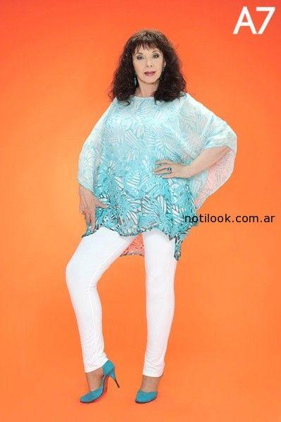 Copia de blusa tipo tunica Loren verano 2015