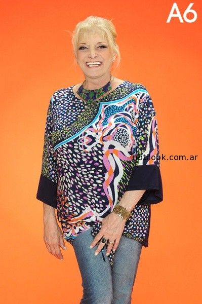 blusa talles grandes Loren verano 2015