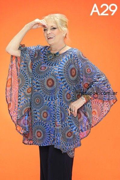 blusas talles grandes loren verano 2015
