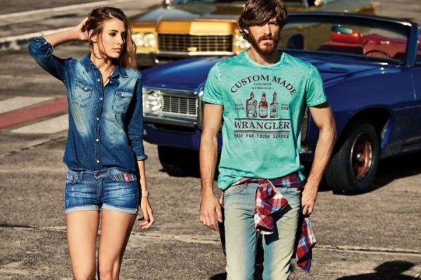 look denim verano 2015 Wrangler