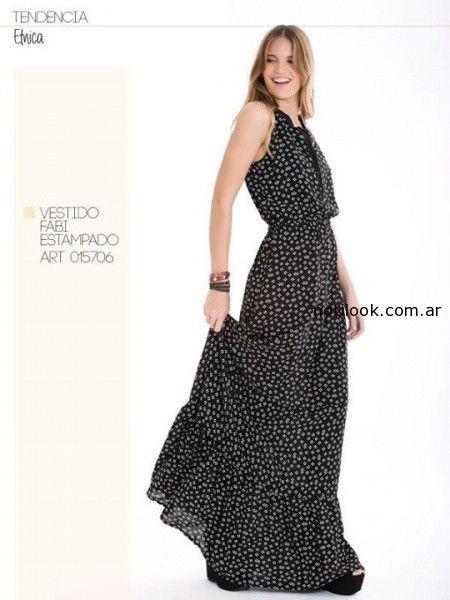 vestido largo de dia City Jenifer Argentina