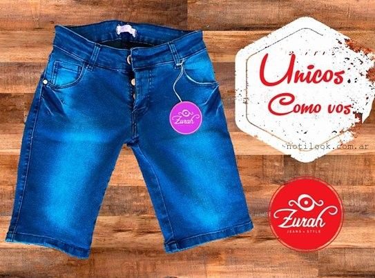 bermuda de jeans verano 2015 Zurah Jeans