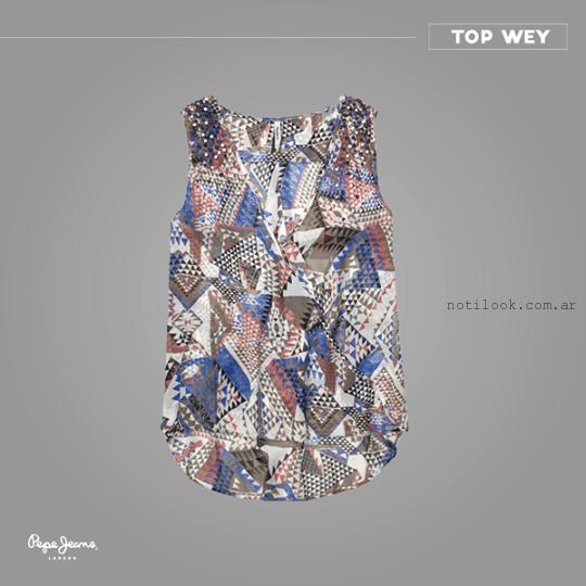 camisa mujer verano 2015 Pepe Jeans