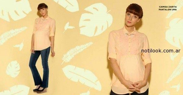camisas para embarazadas MAA Maternity