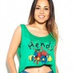 Hendy – Remeras y crop top verano 2015