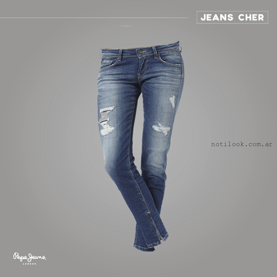 jeans rotos Pepe Jeans muer
