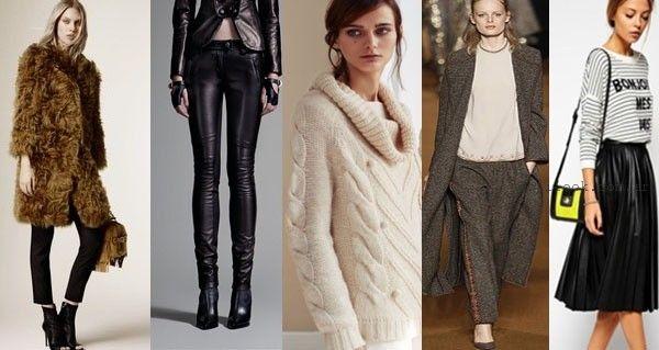 moda - tendencias internacionales otoño invierno 2015