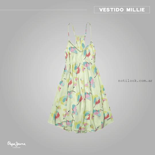 vestido corto de dia Pepe Jeans verano 2015