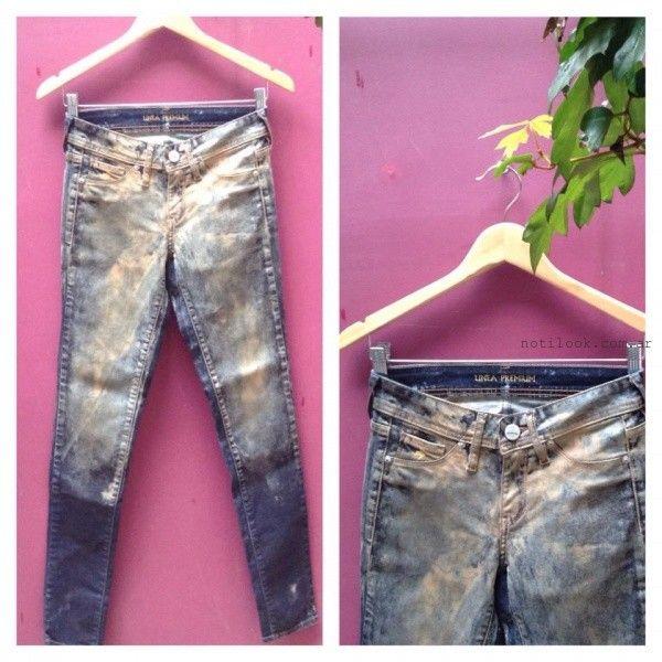 Jjans manchados  - Desvio Jeans otoño invierno 2015