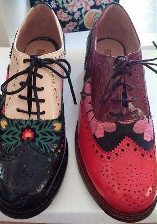 Zapatos acordonados de Benito Fernandez invierno 2015