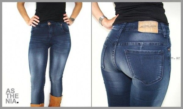 Asthenia  Jeans gastados invierno 2015