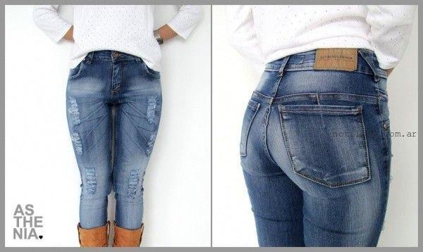Asthenia Jeans rotos invierno 2015