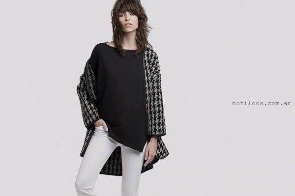 blusa de gasa Awada invierno 2015