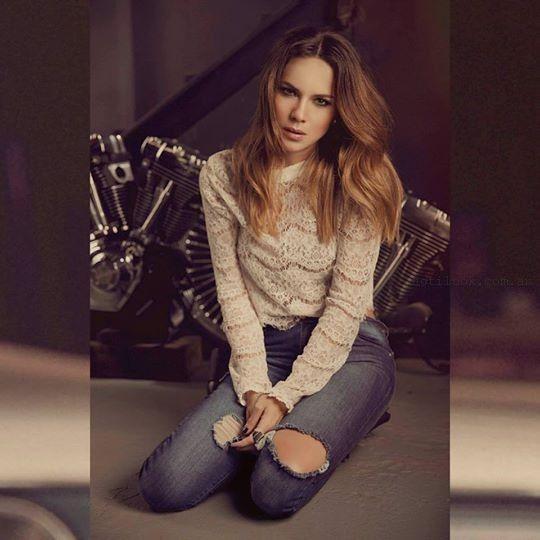 5ada1793c blusa mangas largas juvenil peuque invierno 2015 – Moda Mujer Argentina