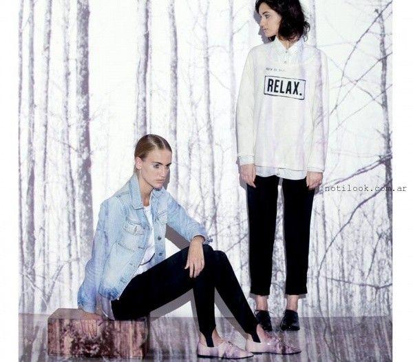 camisa y buzo  - Moda Urbana - Nucleo invierno 2015