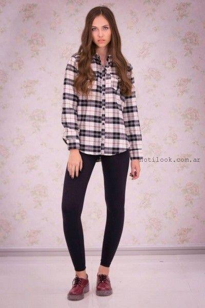 camisa y calza Scombro Jeans invierno 2015