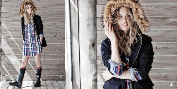 camisas escocesas invierno 2015 Paula Cahen D Anvers