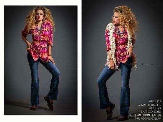 camisas femeninas invierno 2015 sophya