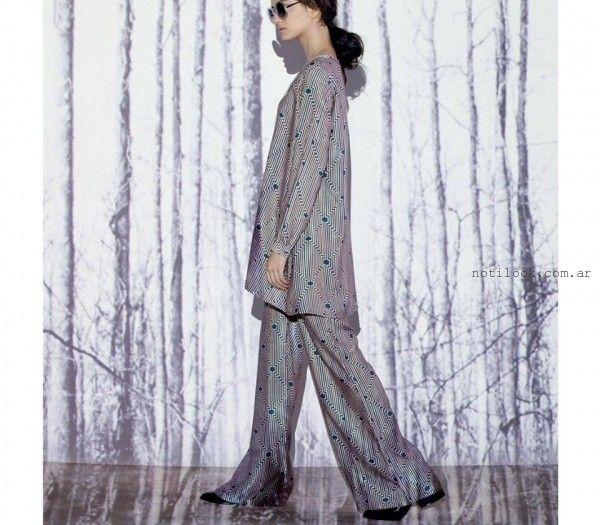 camisola y palazo sueltos y holgado  - Moda Urbana - Nucleo invierno 2015