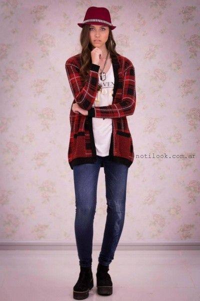 cardingas tejido Scombro Jeans invierno 2015
