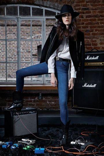 jeans chupin invierno 2015  maria cher