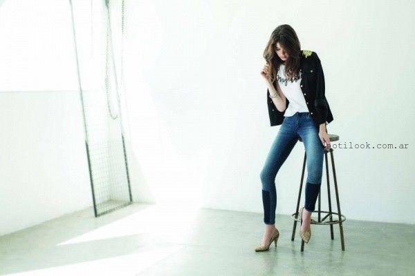 jeans chupin invierno 2015 riffle