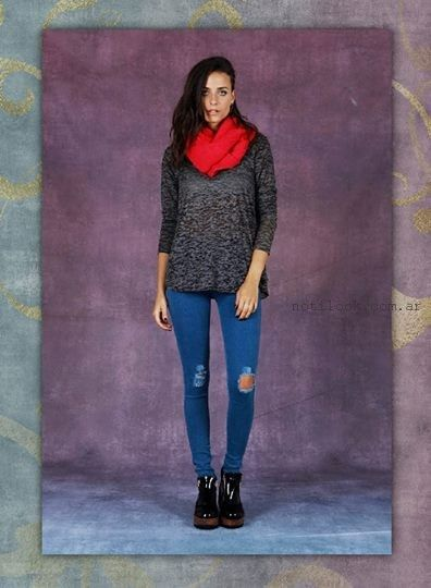 jeans rotos invierno 2015 rimmel