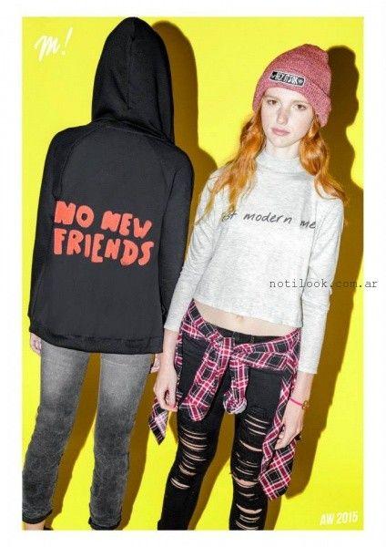 jeans rotos y desteñidos Muaa invierno 2015