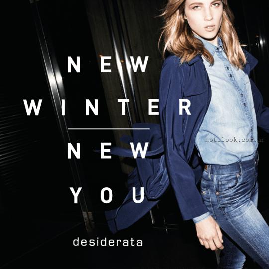 look total denim invierno 2015 desiderata