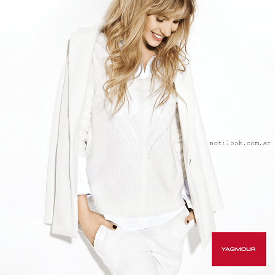 look total white invierno 2015 yagmour