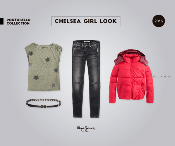 remra y jeans mujer Pepe Jeans invierno 2015