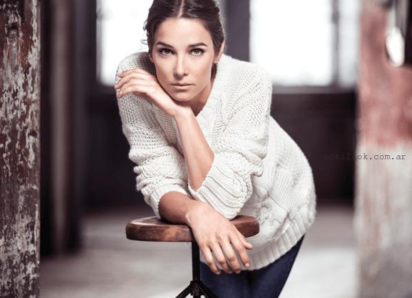 sweater tejido - markova otoño invierno 2015 - juana viale