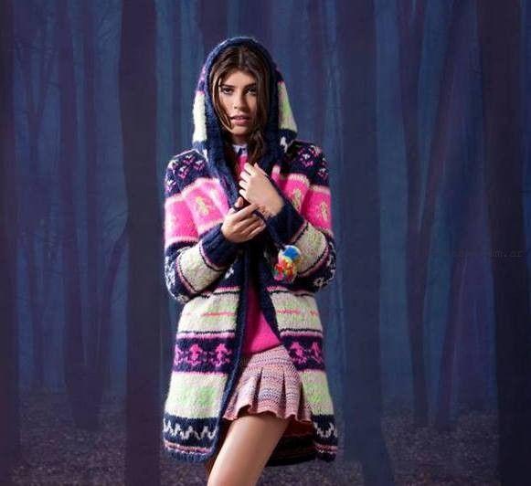 tapado tejido - Agustina Saquer invierno 2015