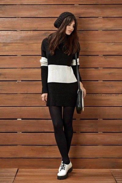 vestido tejido  Kevingston Mujer invierno 2015