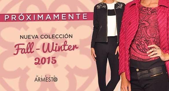 Look señora otoño invierno 2015 - Mirta Armesto