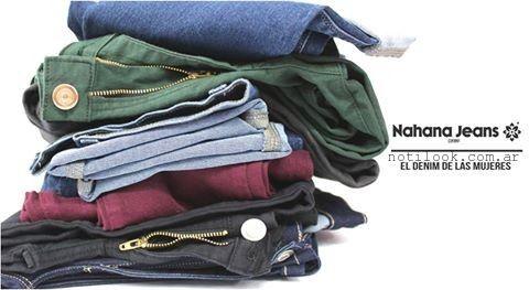 Nahana Jeans de colores invierno 2015