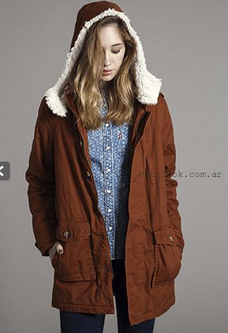 abrigos mujer invierno 2015 levis